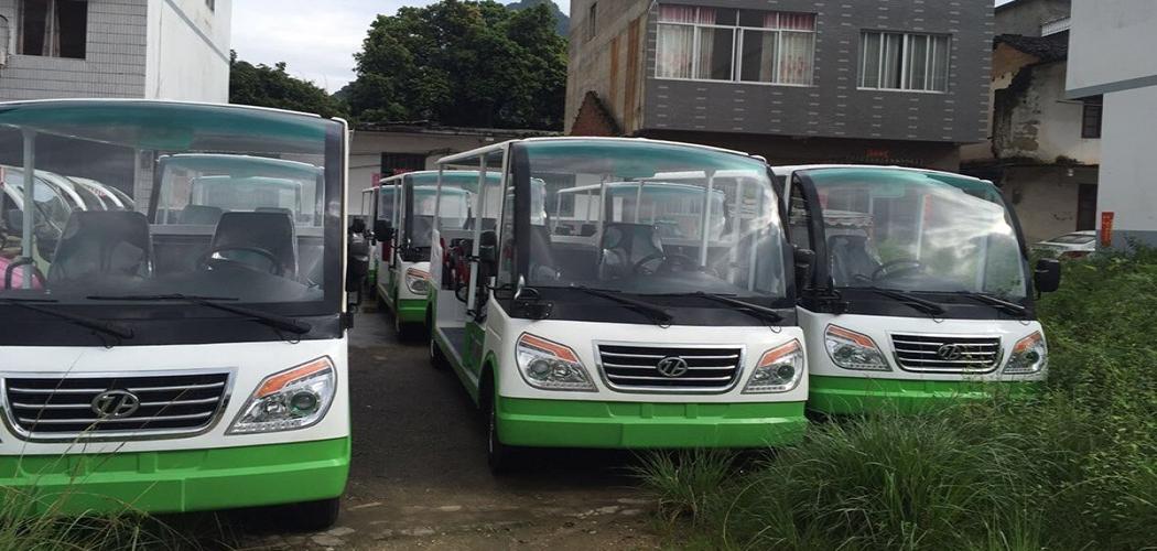 广西桂林14座燃油观光车案例