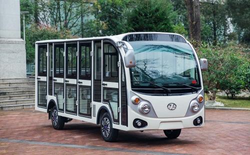电动观光车在旅游景区应用的优势