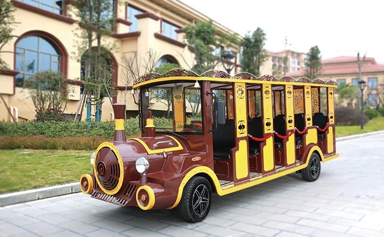 14座燃油观光小火车(仿古式)