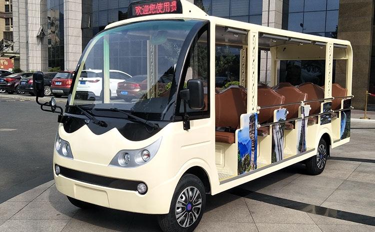 14座旅游景区专用电动观光车-定制款