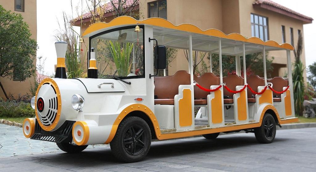 旅游景区电动观光小火车具备哪些优质的特点?