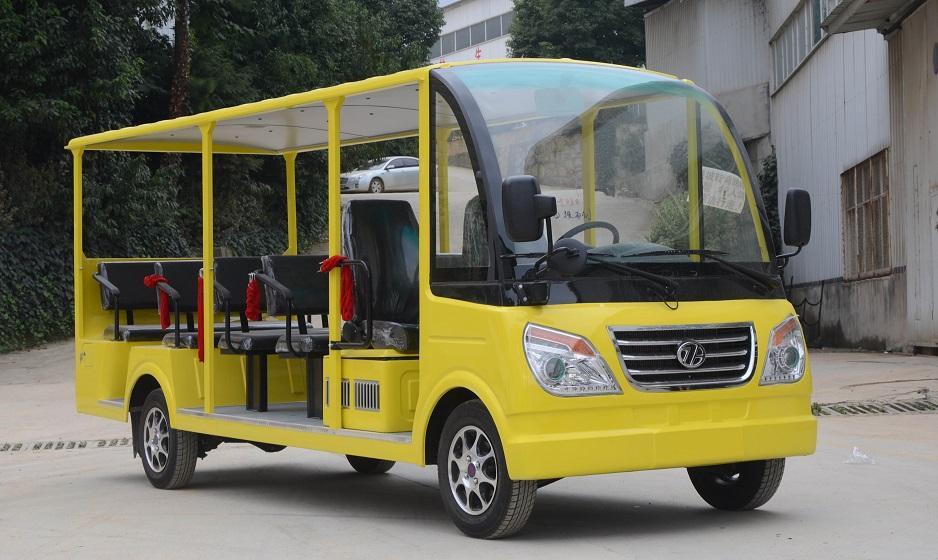 14座燃油观光车